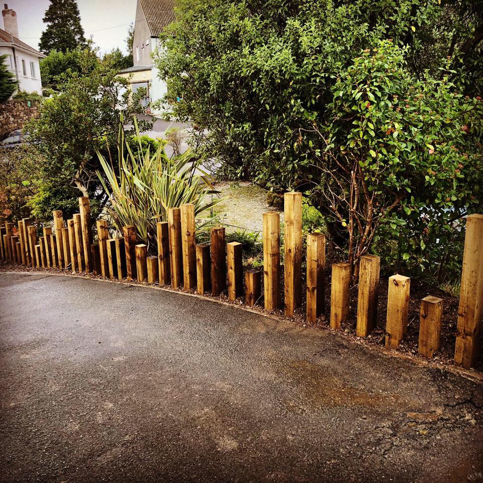 Bespoke Fencing panels in Plymouth