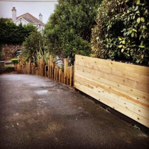Fencing and garden fencing in Plymouth