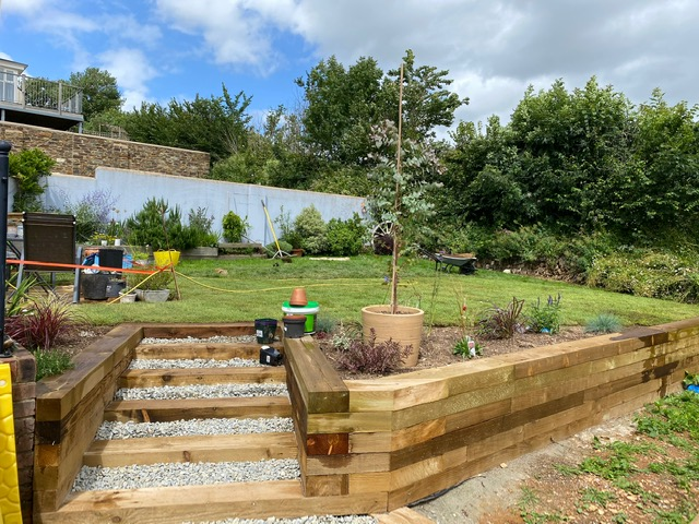 Tree Surgeon in Plymouth Decking landscaping