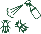 Pest and Disease control woodland services by C H Tree Surgery