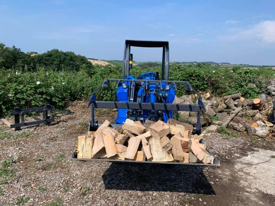 Air dried logs available to purchase Plymouth