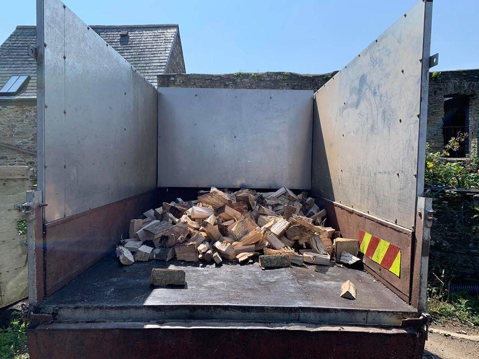 Barn dried seasoned logs Plymouth