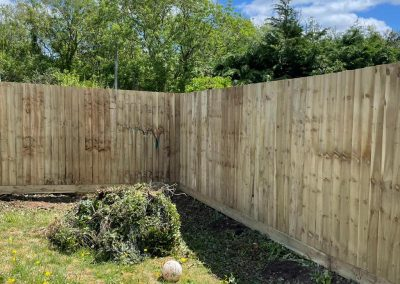 fencing newton ferrers